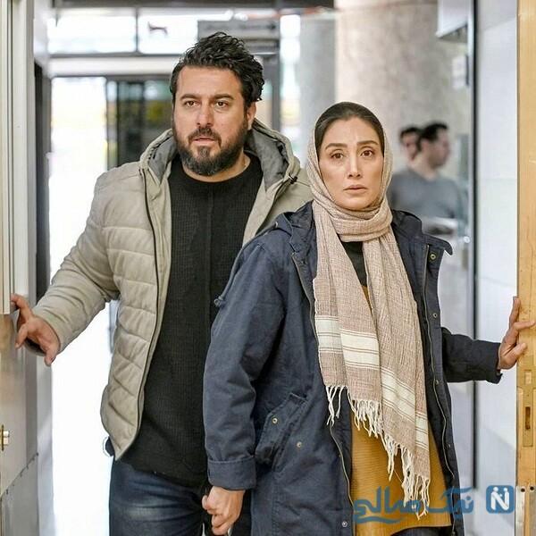 سوتی محسن کیایی و واکنش هدیه تهرانی