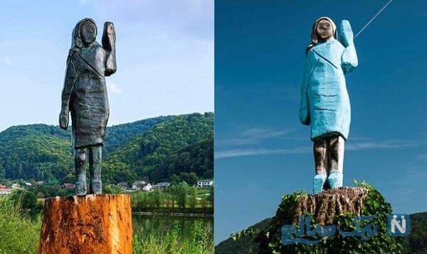 مجسمه ضد ضربه ملانیا