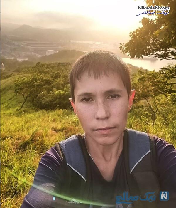صورت مرد جوان