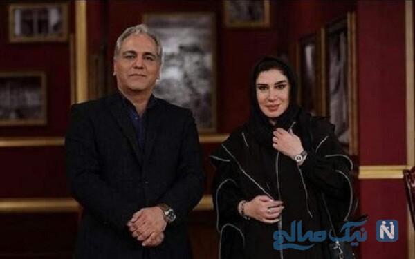 نسیم ادبی و مهران مدیری