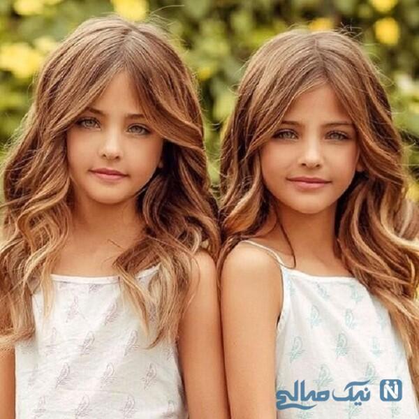 خواهران دوقلو زیبا
