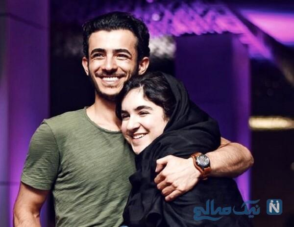 علی شادمان وخواهرش آریانا