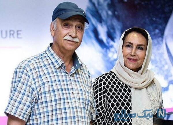 ماجرای ازدواج محمود پاک نیت و مهوش صبر کن