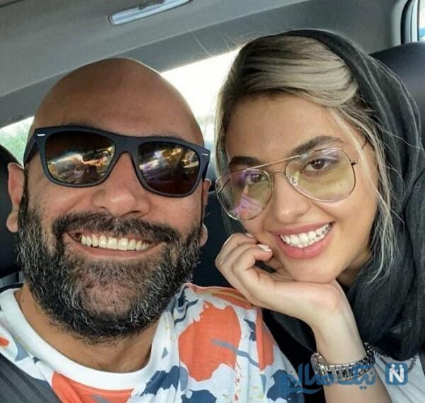 ریحانه پارسا و همسر سابقش