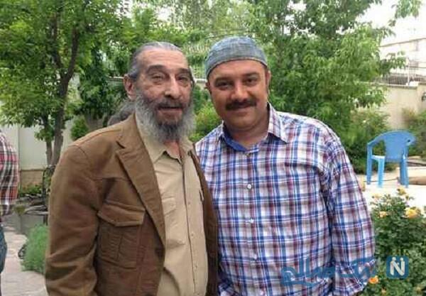 انوشیروان ارجمند و پسرش