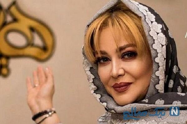 سلفی بهاره رهنما از گردش شبانه با خانواده همسرش امیرخسرو عباسی