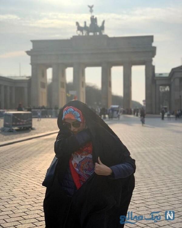 مژده لواسانی عکسی از سفرش به برلین را رو کرد