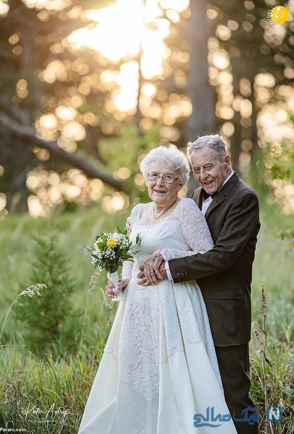 جشن سالگرد عروسی 60 سال بعد