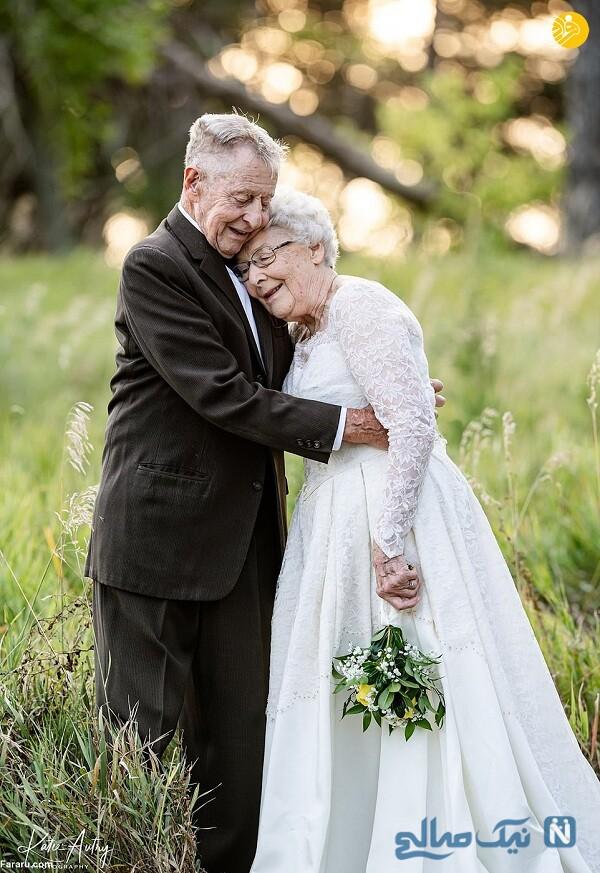 مراسم سالگرد ازدواج 60 سال یعد