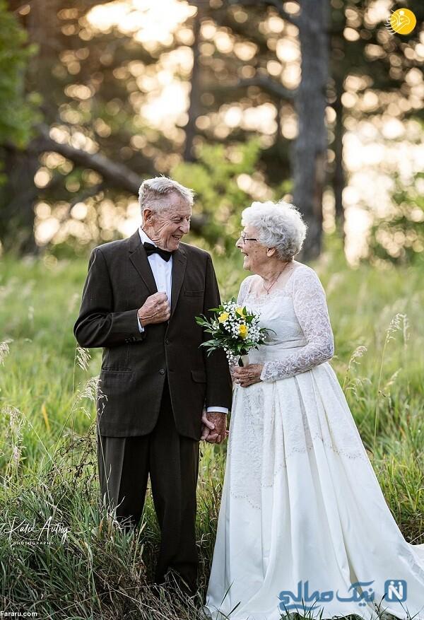 سالگرد ازدواج زوج آمریکایی