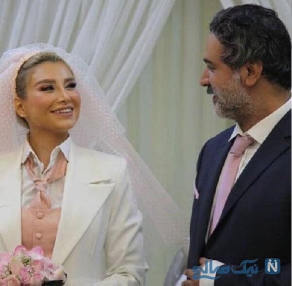 عکس عروسی آقای بازیگر