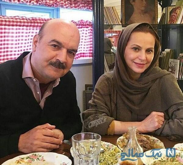مجری مرد و همسرش