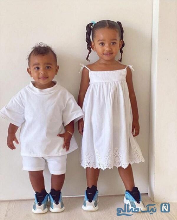 ست لباس دختر و پسر کیم کارداشیان