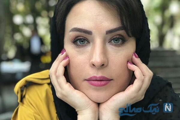 تفریح لادن سلیمانی بازیگر سریال هیولا در پارک زیبا