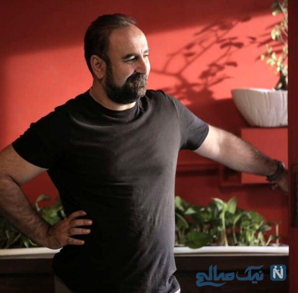 ظاهر جدید مهران احمدی