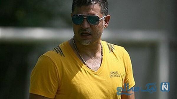 تصویری از گردنبند علی دایی