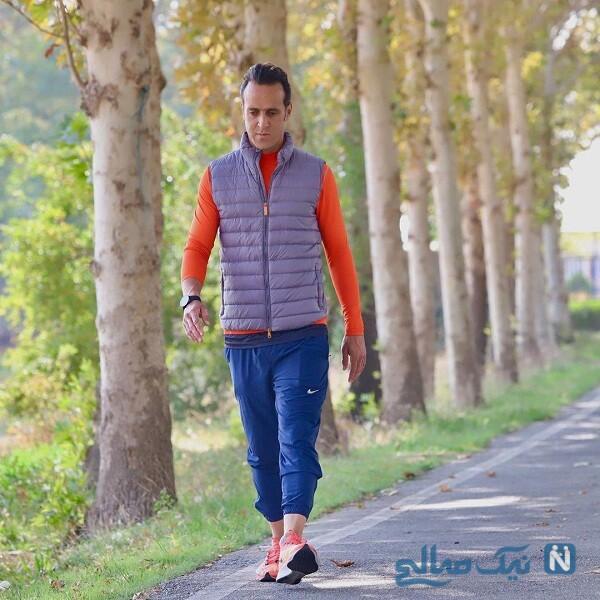 پیاده روی علی کریمی