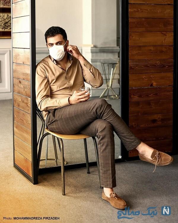 آقای مجری با ماسک