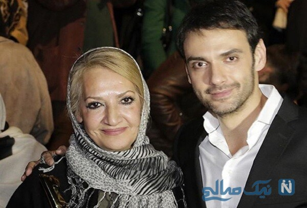 بازیگر ایرانی و مادرش