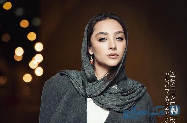 تیپ متفاوت آناهیتا درگاهی در سیستان و بلوچستان