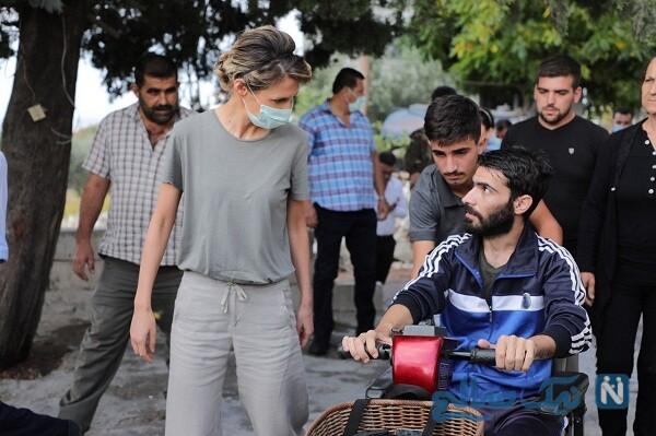 بانوی اول سوریه