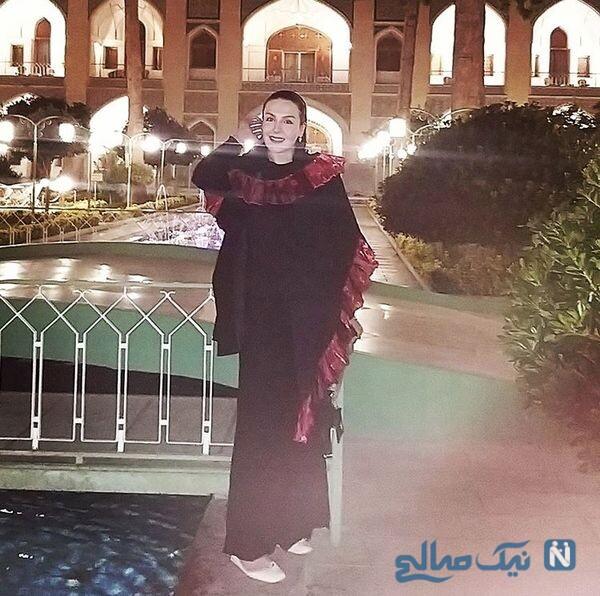 آزیتا ترکاشوند در هتلی مجلل