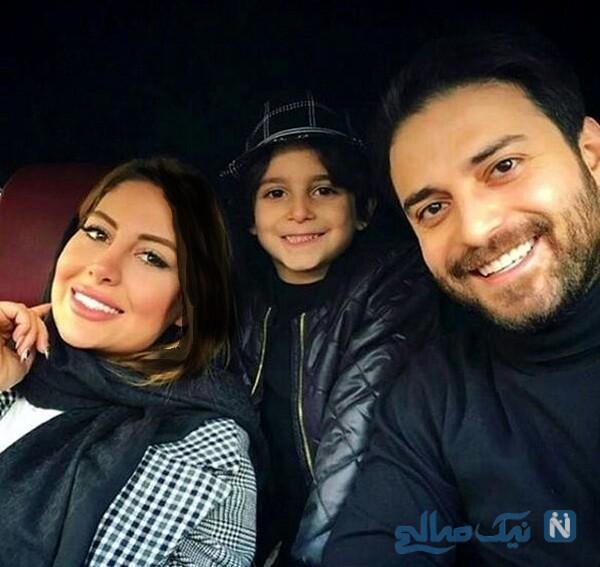 جدیدترین عکس خانوادگی بابک جهانبخش