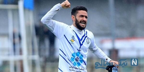 فوتبالیست جوان و معروف ایرانی