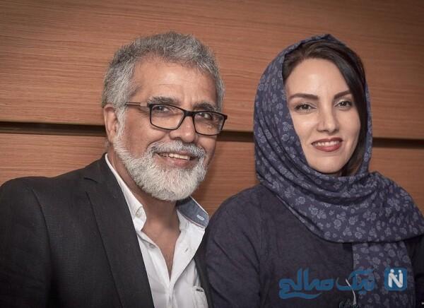 تبریک مرجان شیرمحمدی برای تولد بهروز افخمی