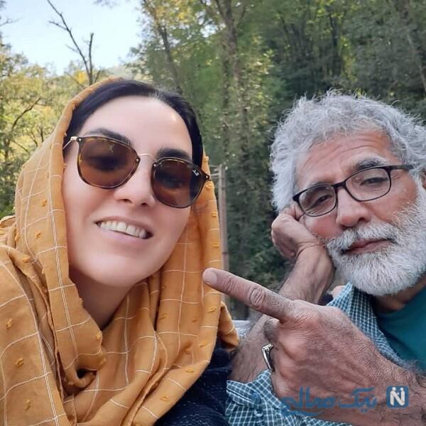 تبریک تولد مرجان شیر محمدی به همسرش