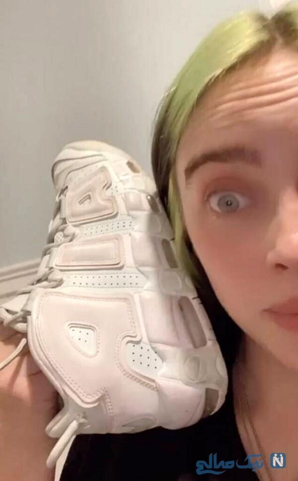 جنجال کفش های بیلی ایلیش