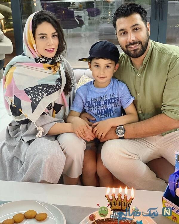 عکس خانوادگی خواننده معروف