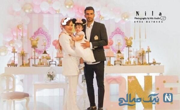 جشن تولد دختر حسین ماهینی