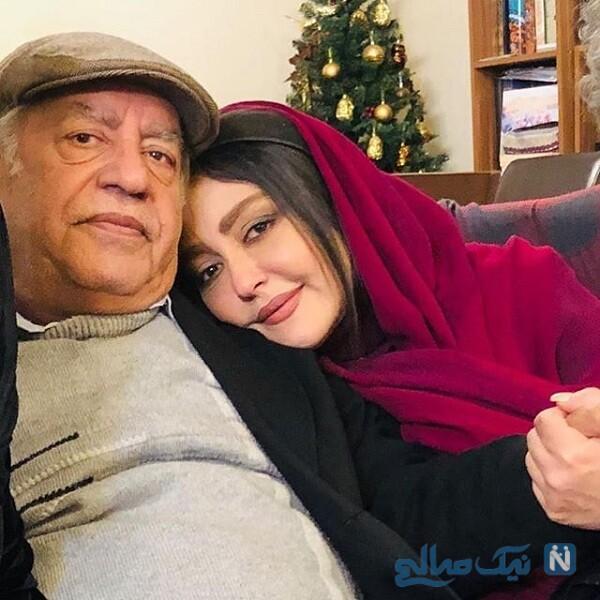 بهزاد فراهانی و دخترش