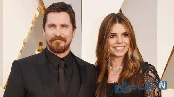 کریستین بیل و همسرش