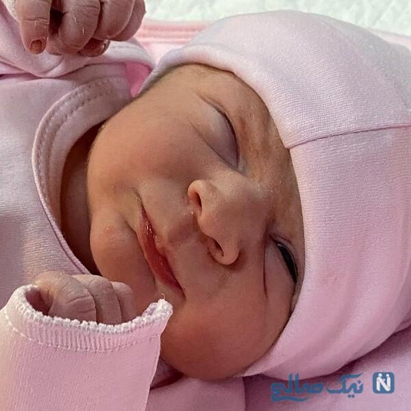 برادرزاده تازه متولد شده رضا گلزار