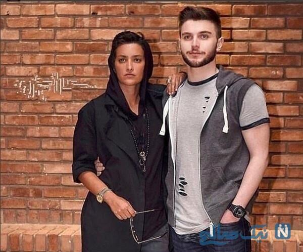مونا بانکی پور و پسرش