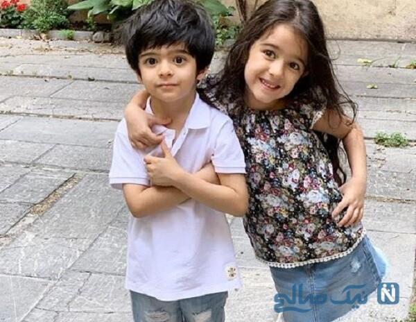 پسر و دختر مجید صالحی