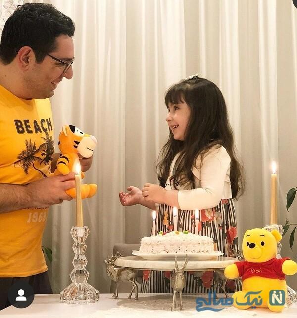 جشن تولد فرزند محمدرضا احمدی