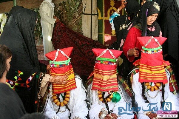 مراسم جشن طلاق در بیابان
