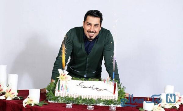 جشن تولد احسان خواجه امیری خواننده