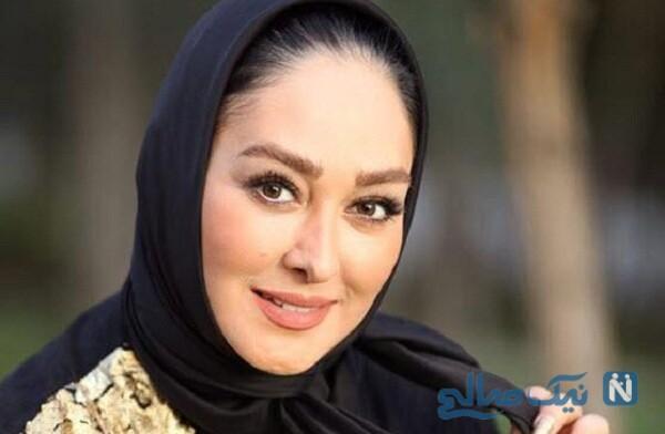 الهام حمیدی بازیگر مشهور و همسرش علیرضا صادقی