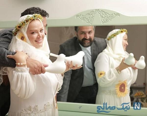 امیر خسرو عباسی و همسرش