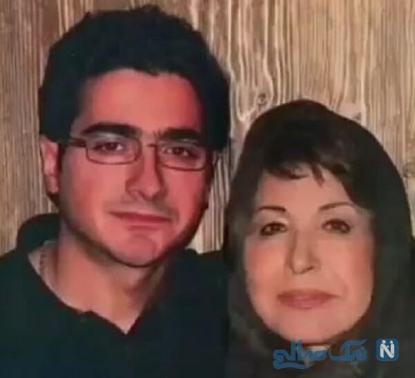 همایون شجریان و مادرش