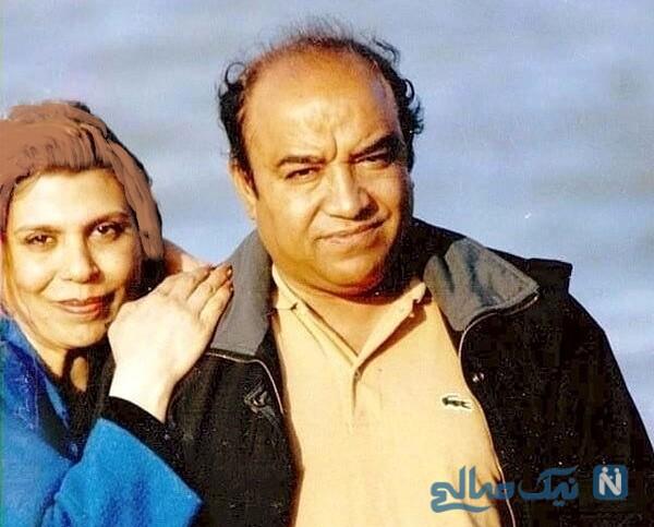 گوهر خیراندیش وهمسرش جمشید اسماعیل خانی