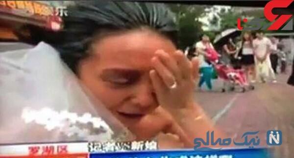 خودکشی داماد بعد از دیدن چهره عروس