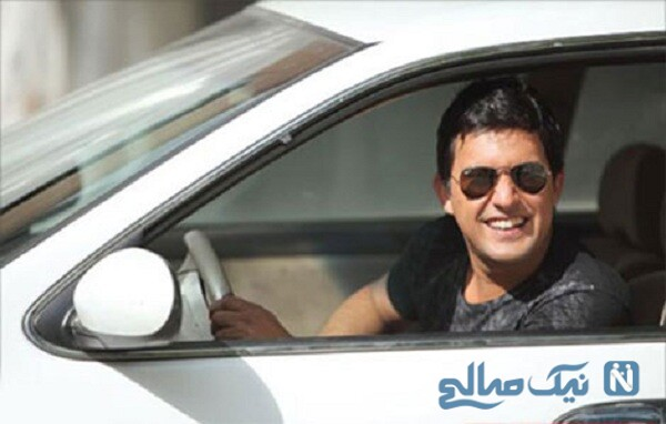 خودرو حامد بهداد بازیگر