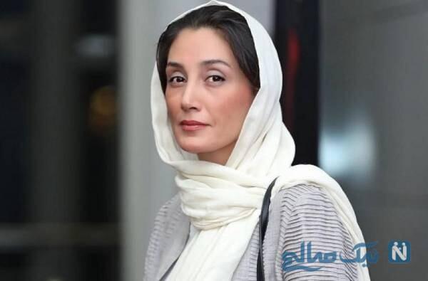 هدیه تهرانی به همراه دوستان بازیگرش در هواپیمای لاکچری