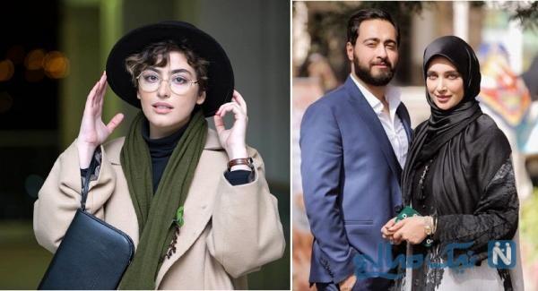 بازیگر ایرانی ریحانه پارسا و امیرحسین مرادیان
