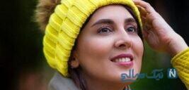 سلفی جدید لیلا بلوکات بدون آرایش در خانه لوکس اش